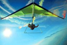 Flying / Pictures of people flying, whether it's microlighting, skydiving, bungee jumping, paragliding, hang-gliding - everyone can fly if they take the plunge!