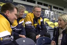 Aviva TV Ident Filming 2013 / We visited every Premiership Rugby club to find out what matters most to their most passionate fans. The biggest supporters were then chosen to star in a series of new adverts on ITV & ITV4 for Premiership Rugby sponsor Aviva.