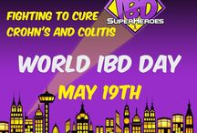 World IBD Day 2016 / #WorldIBDDay - May 19th!   We made these social media headers and profile pictures to help raise awareness and support #IBDSuperHeroes!  Find more here:  https://www.facebook.com/media/set/?set=a.945203465600276.1073741836.859604554160168&type=3