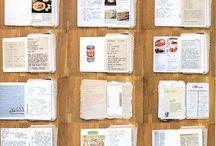 Crafts - Journal - Recipe *inspiration* / Hier pinnen we onze inspiratie voor de Recepten Journal die we gaan maken. Gelijk makkelijk met elkaar gedeeld ;)