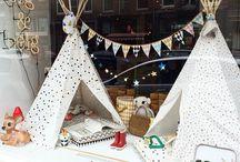 kids window display - store