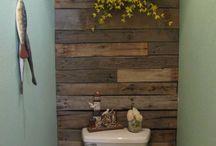 Het kleinste kamertje -wc / Leuke ideeën voor het kleinste kamertje: de toilet!