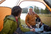 Camping with a Furry Friend / Pictures and Tips of camping with pets