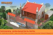 Thiết kế nhà thờ họ - nhà thờ mặt bằng chữ nhất / Vietnamarch thiết kế nhà thờ họ, nhà thờ mặt bằng chữ nhất. http://vietnamarch.com/thiet-ke-kien-truc/nha-tho-ho.html