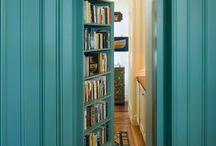 Мебель книж стел потай двери