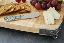 Wine and Cheese / Host your next party with Danforth Pewter.