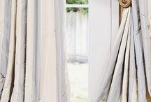 Puddling drapes