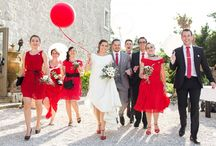 Mariage en rouge & blanc // Red & white Wedding