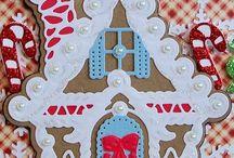 Spellbinders gingerbread