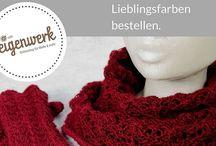 Stricksets bei Café Eigenwerk / Wunderschöne Stricksets für unkompliziertes Stricken mit hochwertiger Wolle