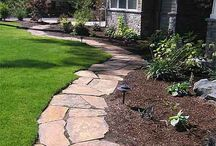 Landscaping Tips/Ideas / by GreenWorks Tools