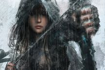 character design: katrina or kat frost