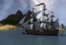 Minecraft Ships