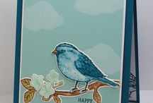 Stampin' Up! - Best Birds / Stampin' up stamp set and card design