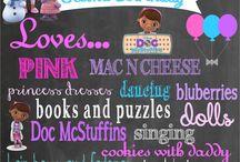 Dr Mcstuffins party ideas