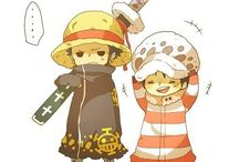 Law and Luffy