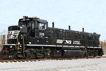 Train - NS - Norfolk & Southern