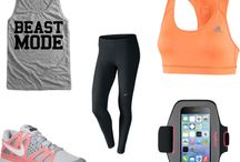 Workout clothes / by Traci Andreasen