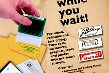 Rubber Stamp Ideas / We make high-quality, 600dpi, self-inking rubber stamps right here in the store.  We can have your stamp ready in less than 15 minutes.  Almost any image, including graphics and photos can be put on your stamp!
