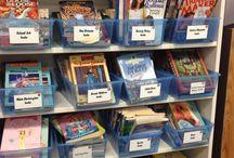 School - Classroom Library Ideas