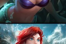 Beautiful of Disney characters