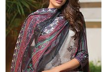 Signature Icon Embroidered Lawn Suit Collection Volume ll