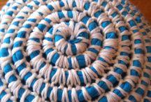 Crochet hat from T-shirt yarn and merino / Háčkovaný klobouk z t-shirt příze a merina - jak na to..