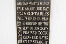 family rules boards