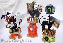 October 2015 MMMC #17 Winners / Winners of the Mixed Media Monthly October 2015 Challenge