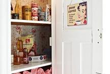 Kitchens ~ pantry / by Kristin Fägerskjöld