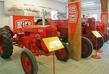 Historische landbouwvoertuigen