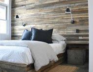 Pat perete lemn