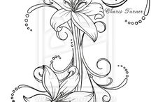 Lily / Flower designs