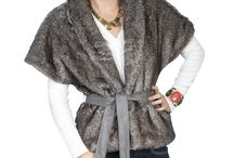 Faux Fur Western Jackets / Luxurious, sexy and a must have this winter!  Dress em' up or down!