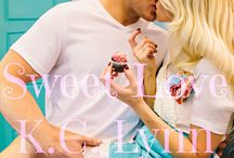 Sweet Love (The Sweet, #1)  by K.C. Lynn / Sawyer e Grace com os seus filhos Hope e Parker