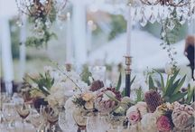 Wedding Decor / Anything and everything to inspire you from elegant wedding table settings to stunning ceremony and fund and beautiful reception decorations
