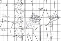 wykroje i wzory- szyjemy