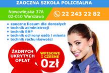 Educatio Centrum Kształcenia / Educatio to szkoła niepubliczna z uprawnieniami szkoły publicznej w Warszawie, w której można kształcić się bezpłatnie. Zajęcia prowadzone są w systemie zaocznym.  Kształcimy na kierunkach: technik administracji, BHP, rachunkowości, ochrony osób i mienia. Prowadzimy również liceum dla dorosłych.