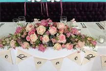 Top Table Wedding Centerpiece Inspiration