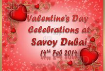Valentine's Day Celebrations 2014 / Images from the wonderful Valentine's Day Celebrations at Savoy Dubai Hotels