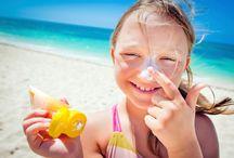 On the beach / stylish summers
