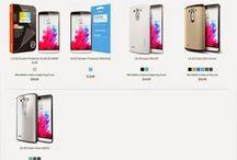 LG G3 deksler og etuier