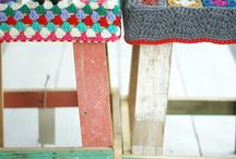 Knitting/Crochet/Woolfelt/Weaving / by Suzette Hungerford