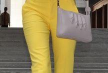 Pantalon de couleur