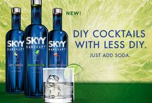 SKYY Barcraft / An innovative new line of flavored vodka – ‪#‎SKYYBarcraft‬  #‎margaritalime‬ ‪#‎whitesangria‬ ‪#‎watermelonfresca‬ / by SKYY Vodka