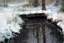 Мосты зима