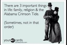 Roll Tide! / by Emily Cunningham