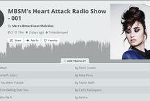 Heart Attack Radio Show / Sizlere her hafta MBSM arşivinin en özel ve güzel şarkılarını,ayrıca güncel müzik püflerini eşsiz ses kalitesiyle sizlere ulaştıracağız.   I think i'd have a heart attack !  http://www.mixcloud.com/MertsBSweet