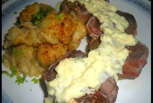 FOOD: My homemade roasts, wings, chicken, meat, seafood..... / I'm not so into beef or pork but I do make awesome steaks, chops. and roasts. My husband is more of a meat lover. Here are pics of my homemade roast and man's food.