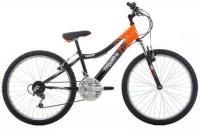 """24 Inch Wheel Kids Bikes / 24"""" wheels; suitable for ages 8+ with an inside leg measurement between 56cm to 65cm. These usually have gears ranging from 6 speed to 24 speed. The most common amount of gears for a 24"""" wheel bike, for example, is 18 (Speed) with a grip shift or a revoshift. These bikes are still available in colourful finishes, although some models have more subtle colour finishes. Additionally, some bikes have front suspension and alloy frames for comfort and weight."""